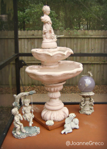 Corners Of My Home: Backyard Fountain & Statues