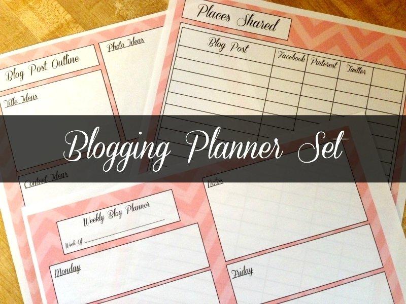 Blogging Planner
