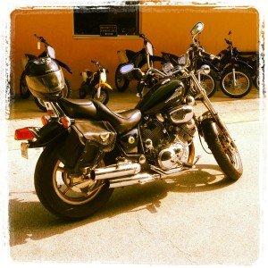 Biker Babe #WordlessWednesday + linky