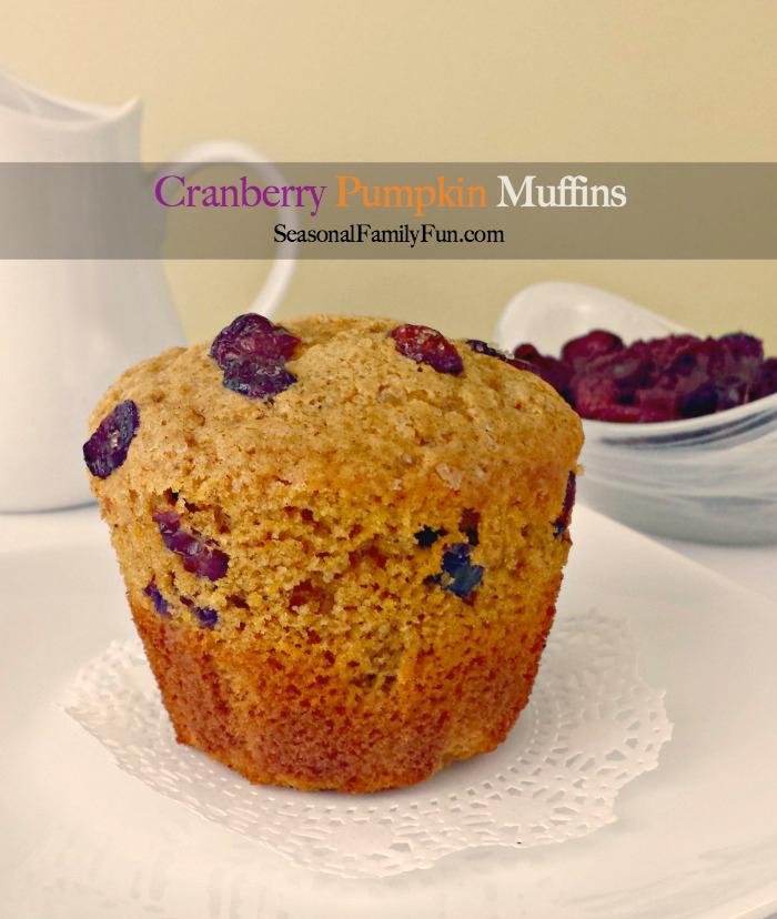 Cranberry-Pumpkin-Muffins