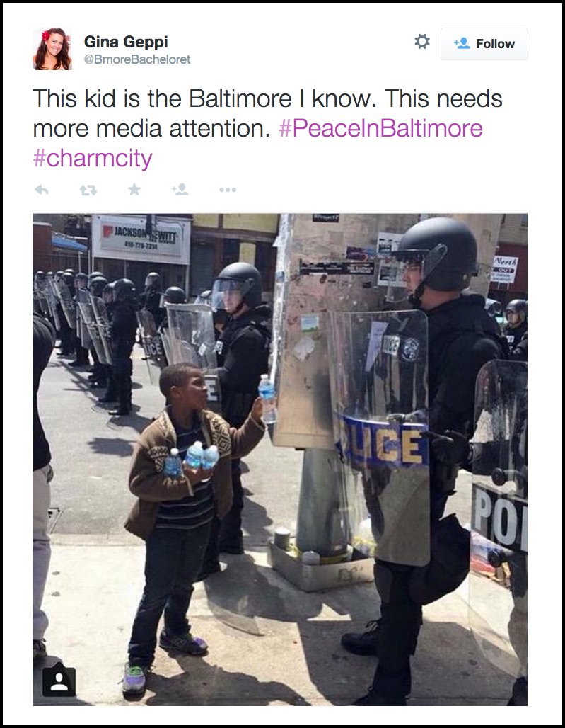#BaltimoreRiots