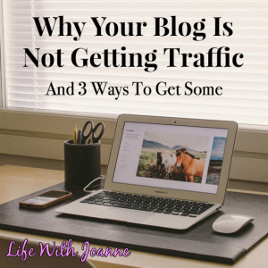 Why You're Not Getting Blog Traffic – And 3 Ways To Get Some