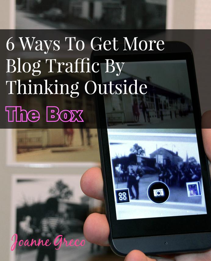 Get More Blog Traffic #blogging #marketing