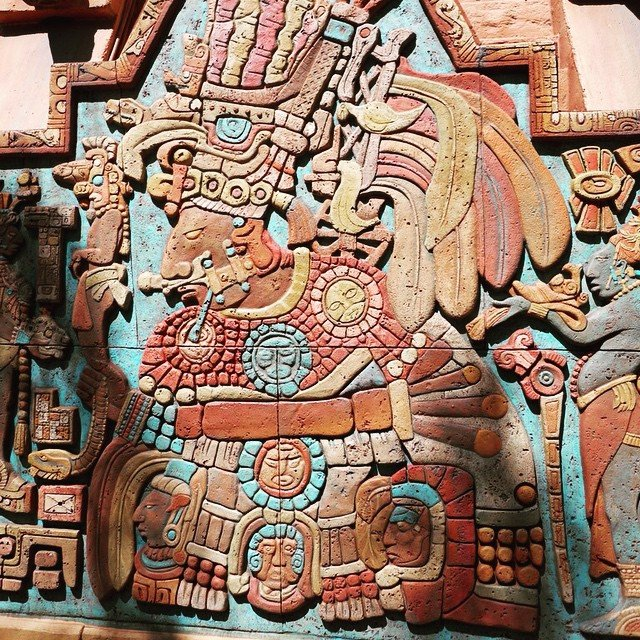 Carvings at Epcot