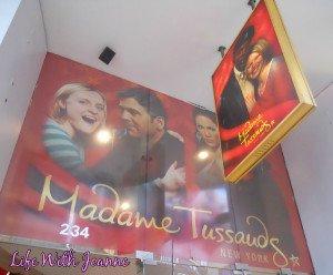 Madame Tussauds NYC #WordlessWednesday