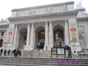 Main Branch Of The NY Public Library #WordlessWednesday