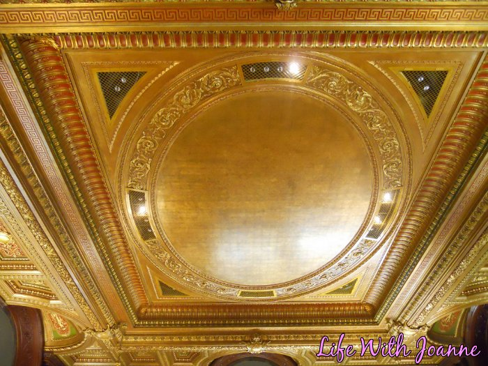 NY Public Library ceiling