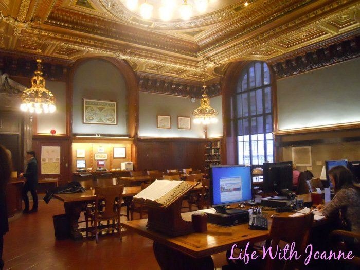 NY Public Library room