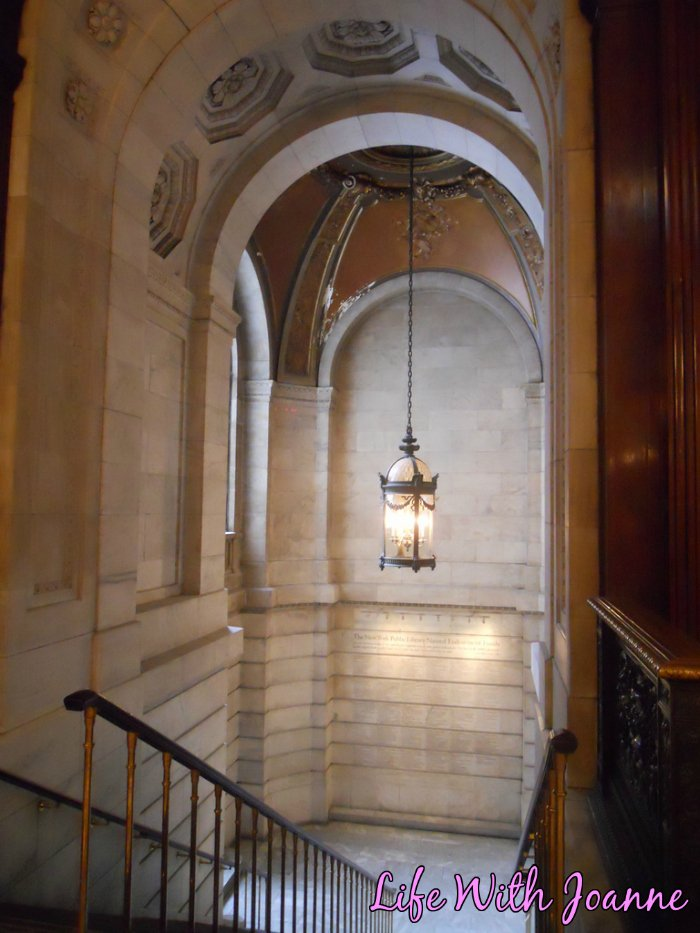 NY Public Library staircase