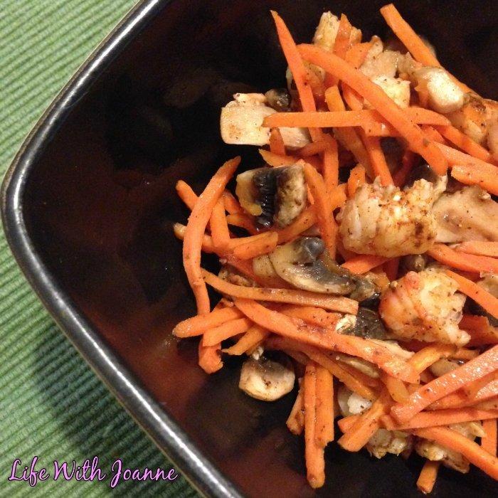 stirfry shrimp