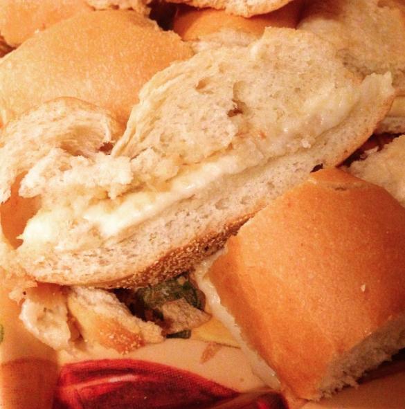 Mozzarella bread