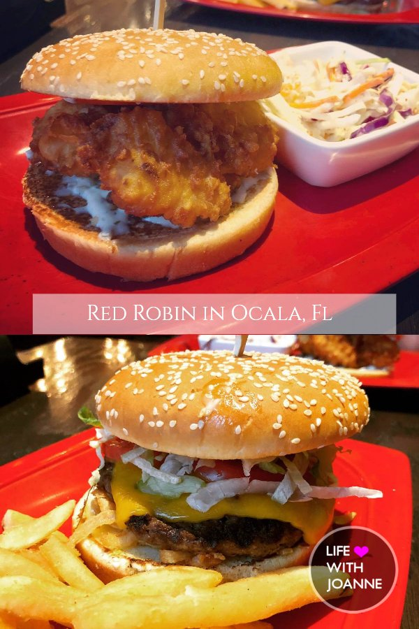Lunch date at #RedRobinBurgers in #Ocala. #lunchideas #redrobin #lunchdate #florida #floridablogger #ocalablogger #lifewithjoanne