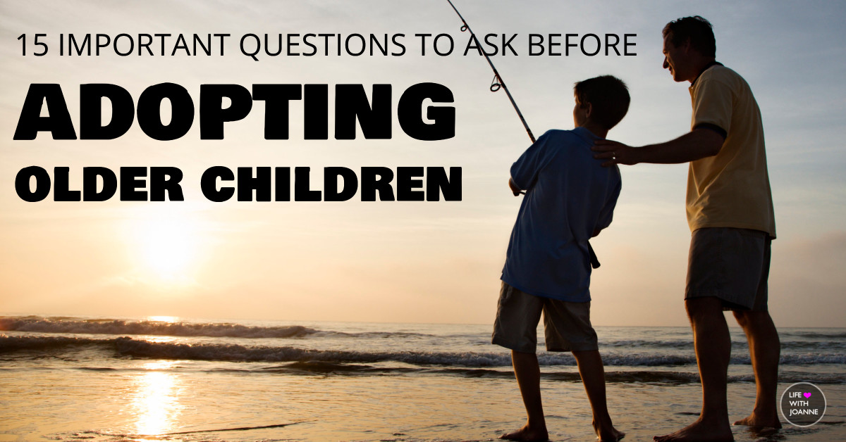 Questions before adopting older children