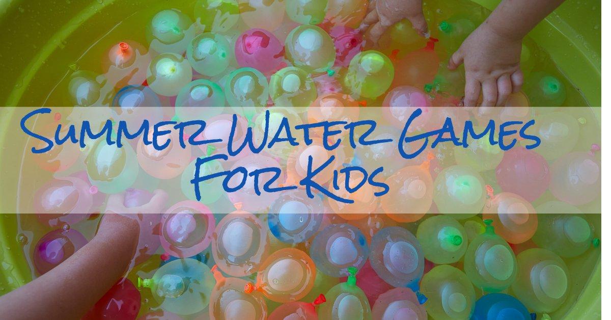 fun outdoor water activities