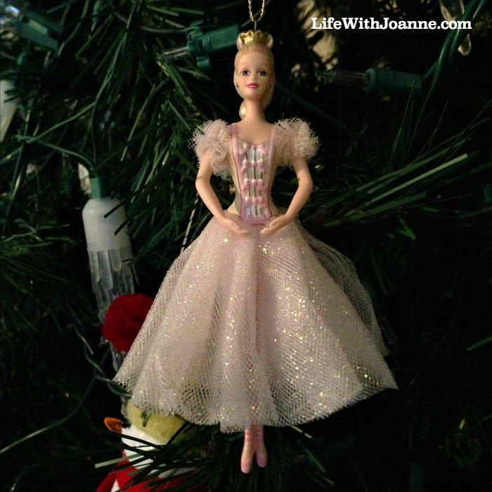 Nutcracker Barbie Ornament