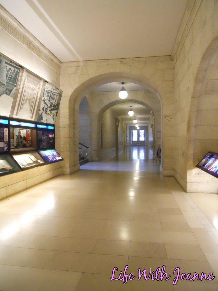 NY Public Library hall