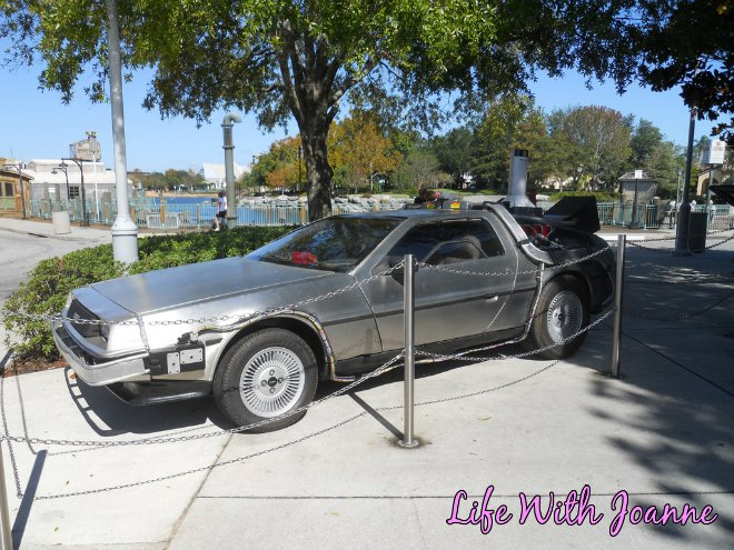Universal Studios Back to the future