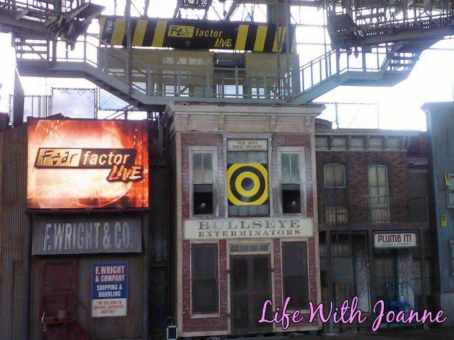 Universal Studios fear factor