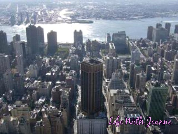 East view from Empire State Building