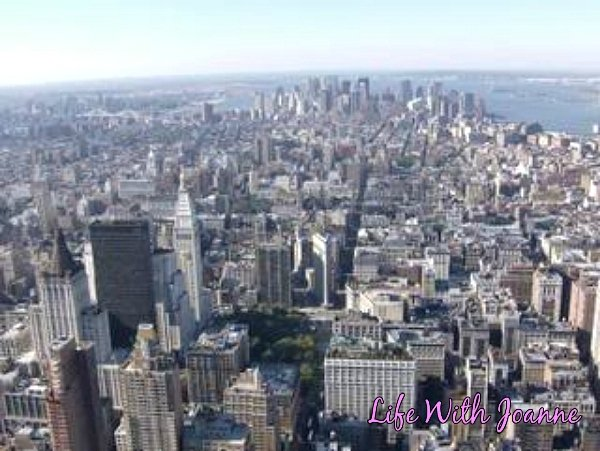 South view from Empire State Building