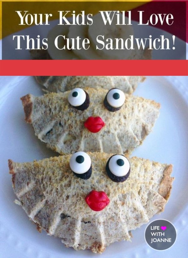 cute sandwich for kids