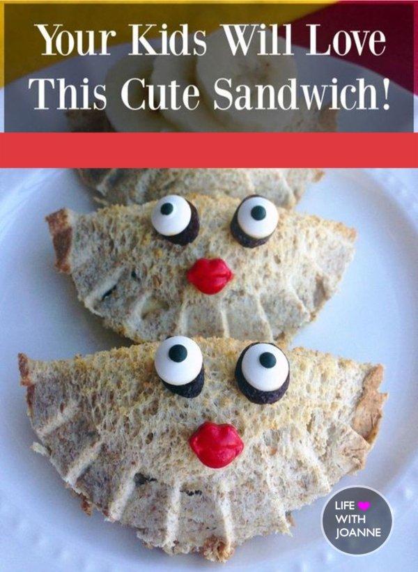 cute sandwich for kids