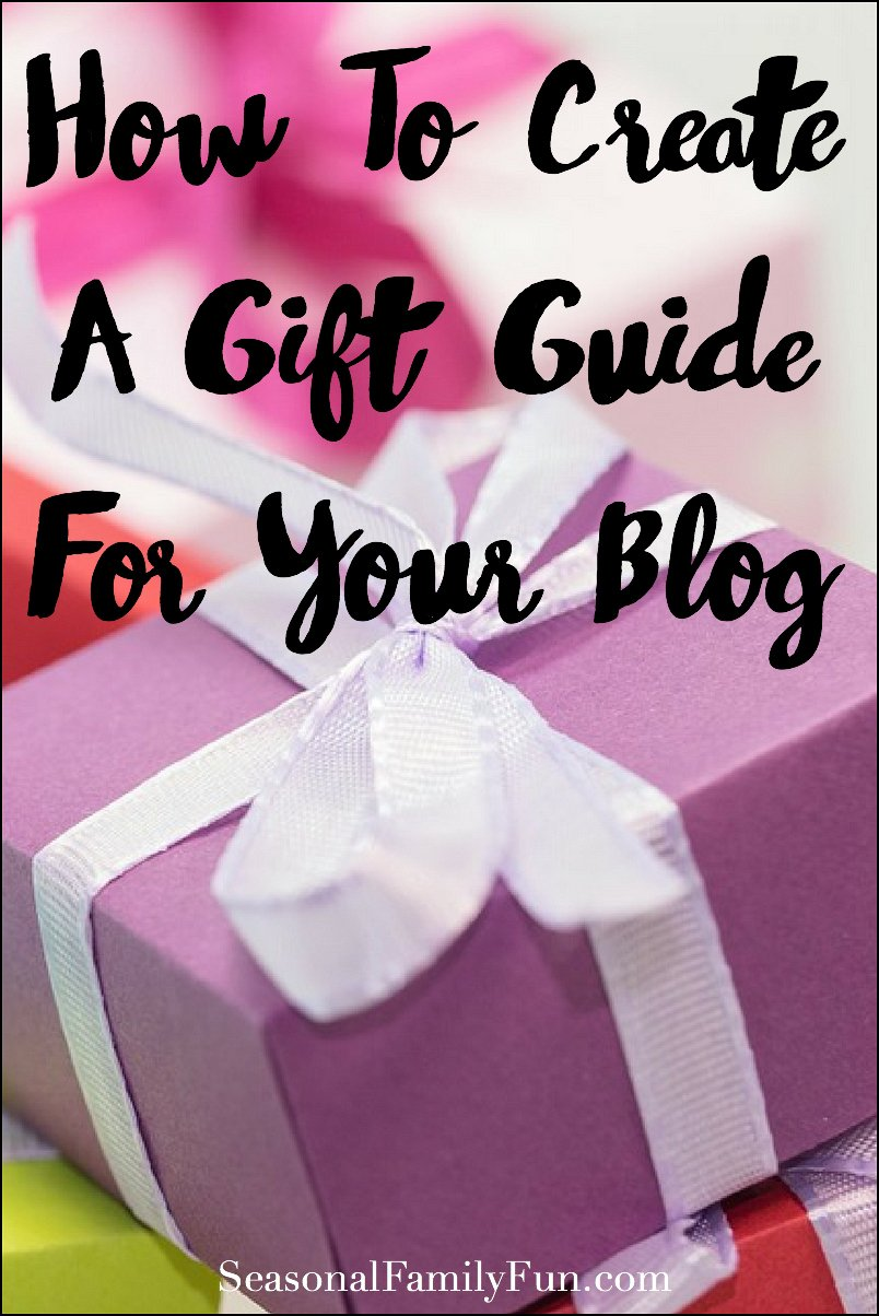 How To Create A Gift Guide