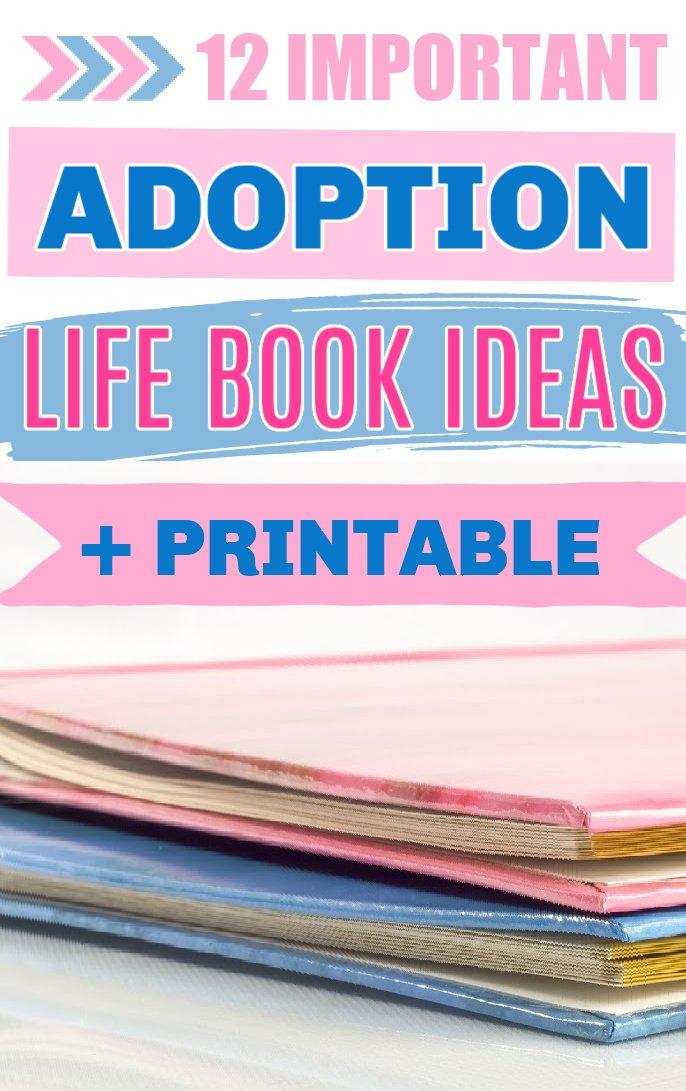 Adoption life book printable