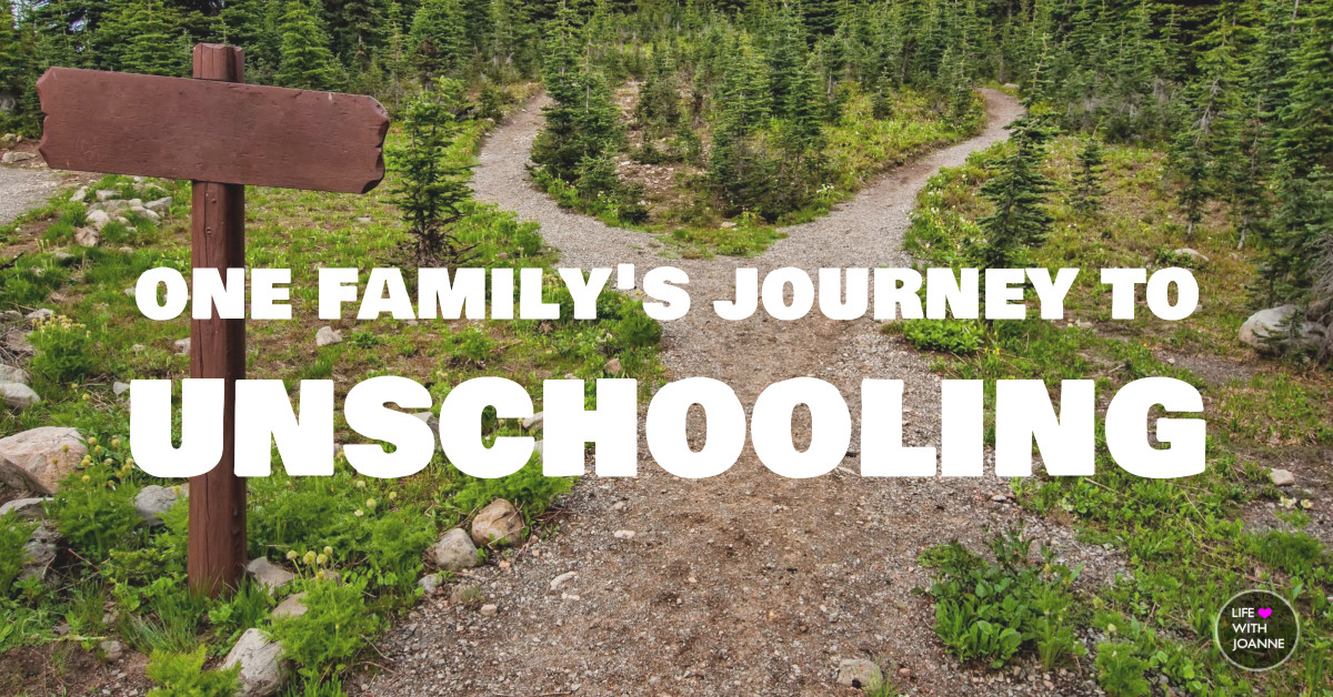 Unschooling journey