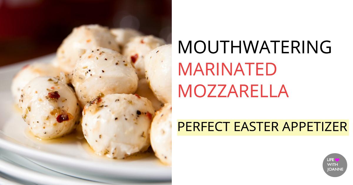 Marinated mozzarella recipe