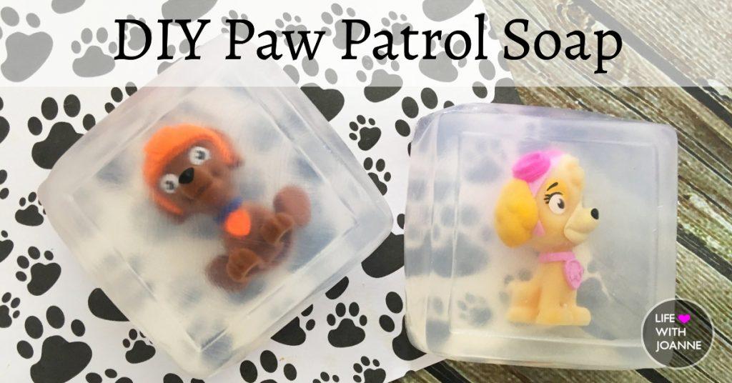 DIY Paw Patrol Soap
