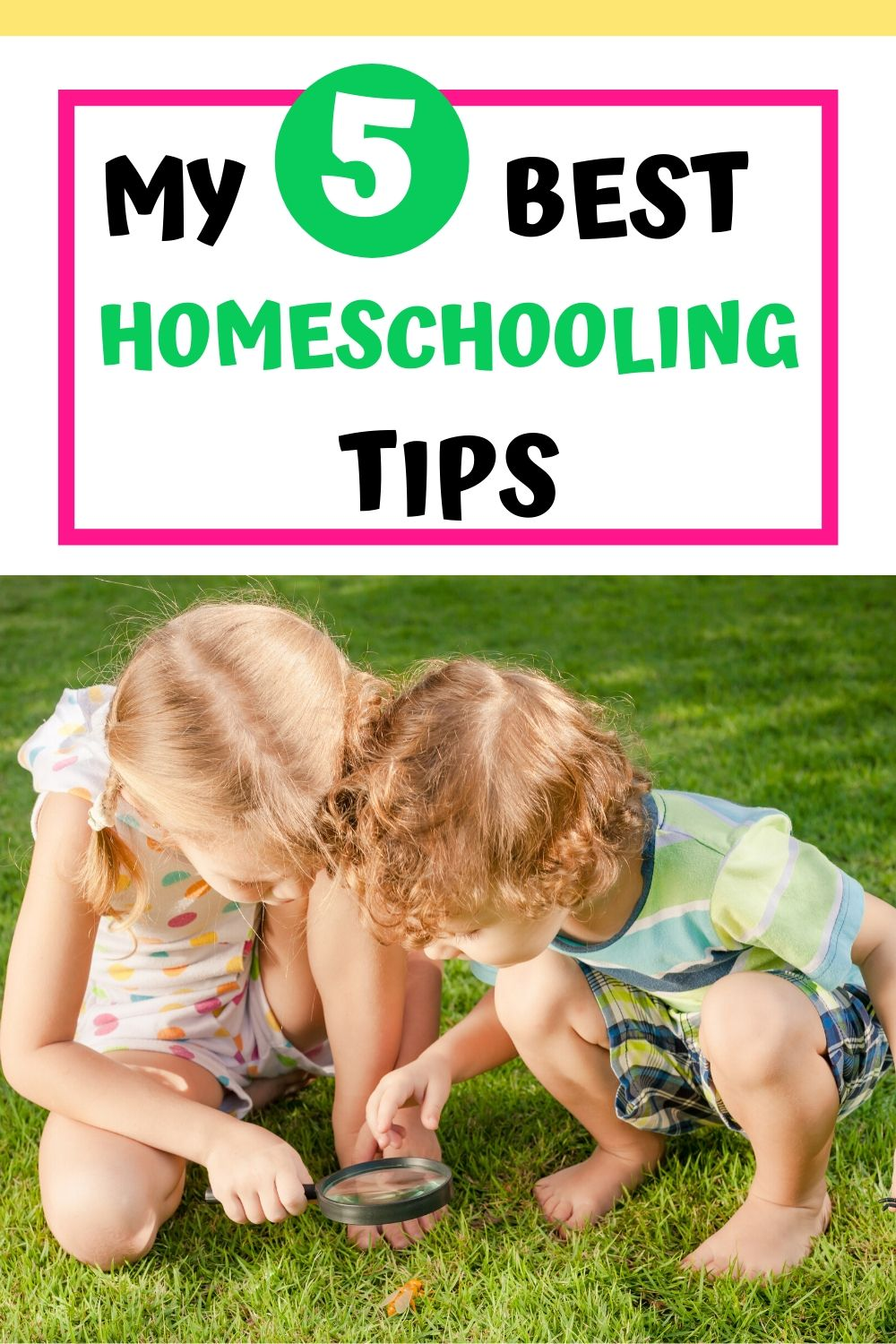 Best homeschooling tips