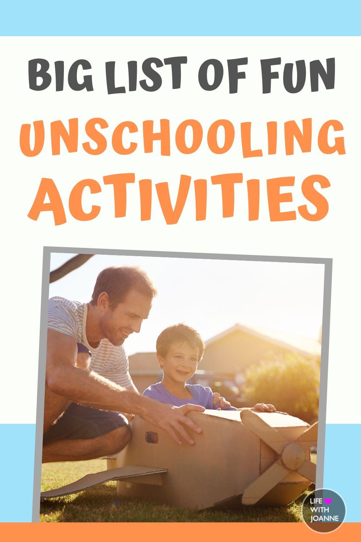 Unschooling activities