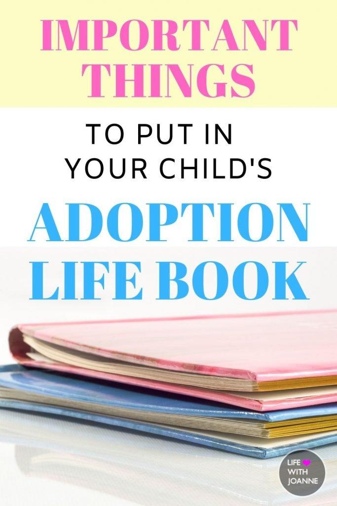 Adoption Life Book Ideas