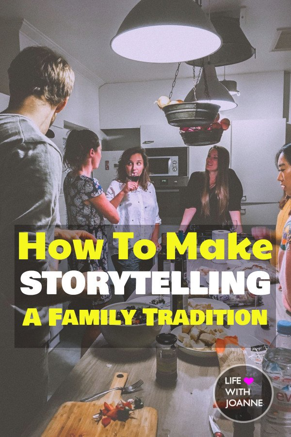 Make storytelling a family tradition