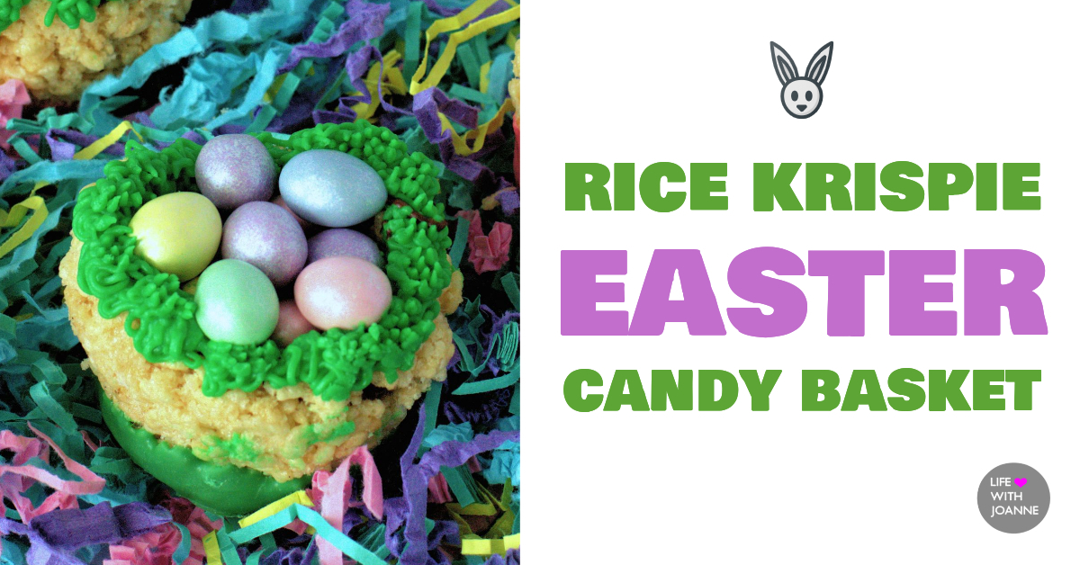 Rice Krispie Easter Basket