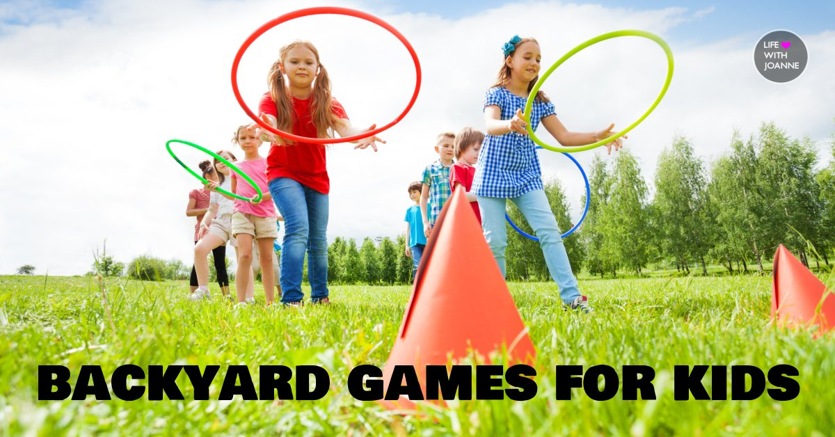 Backyard games for kids of all ages