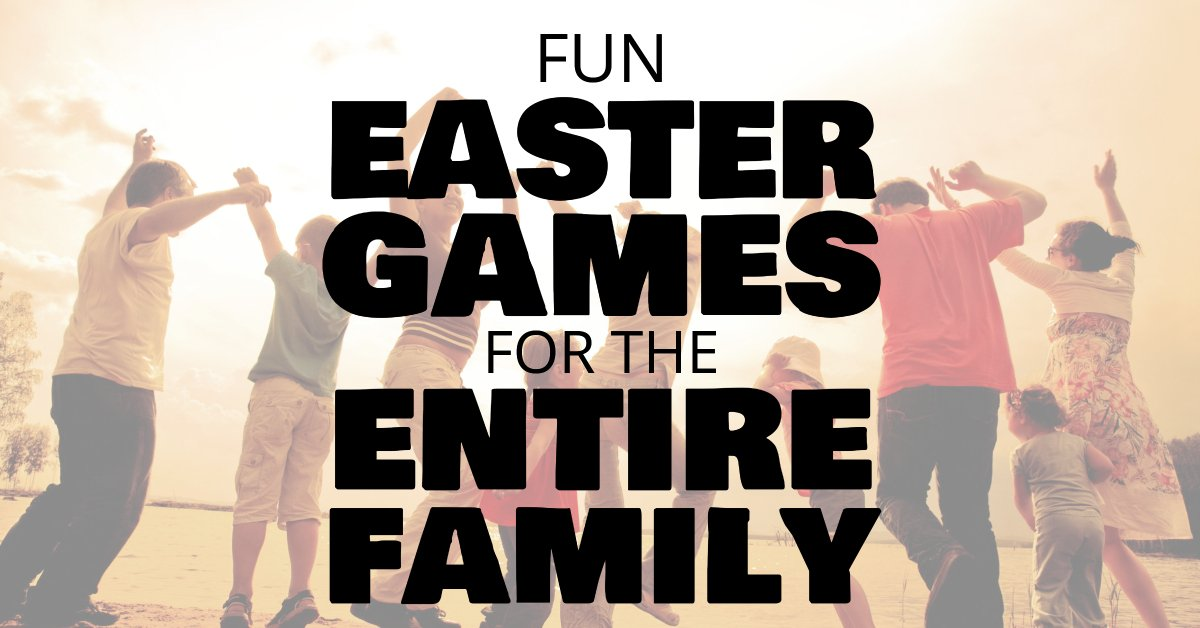Easter games for the family
