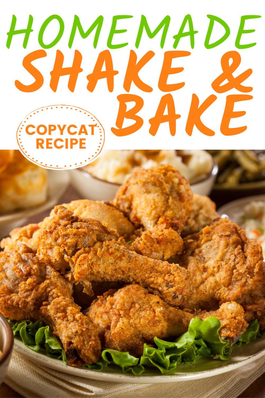 Homemade shake and bake recipe