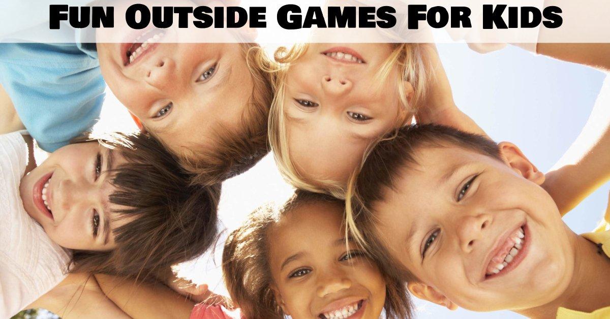 Outside games for kids