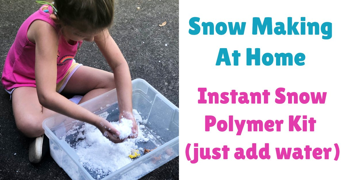instant snow powder kit