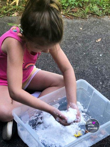 make snow